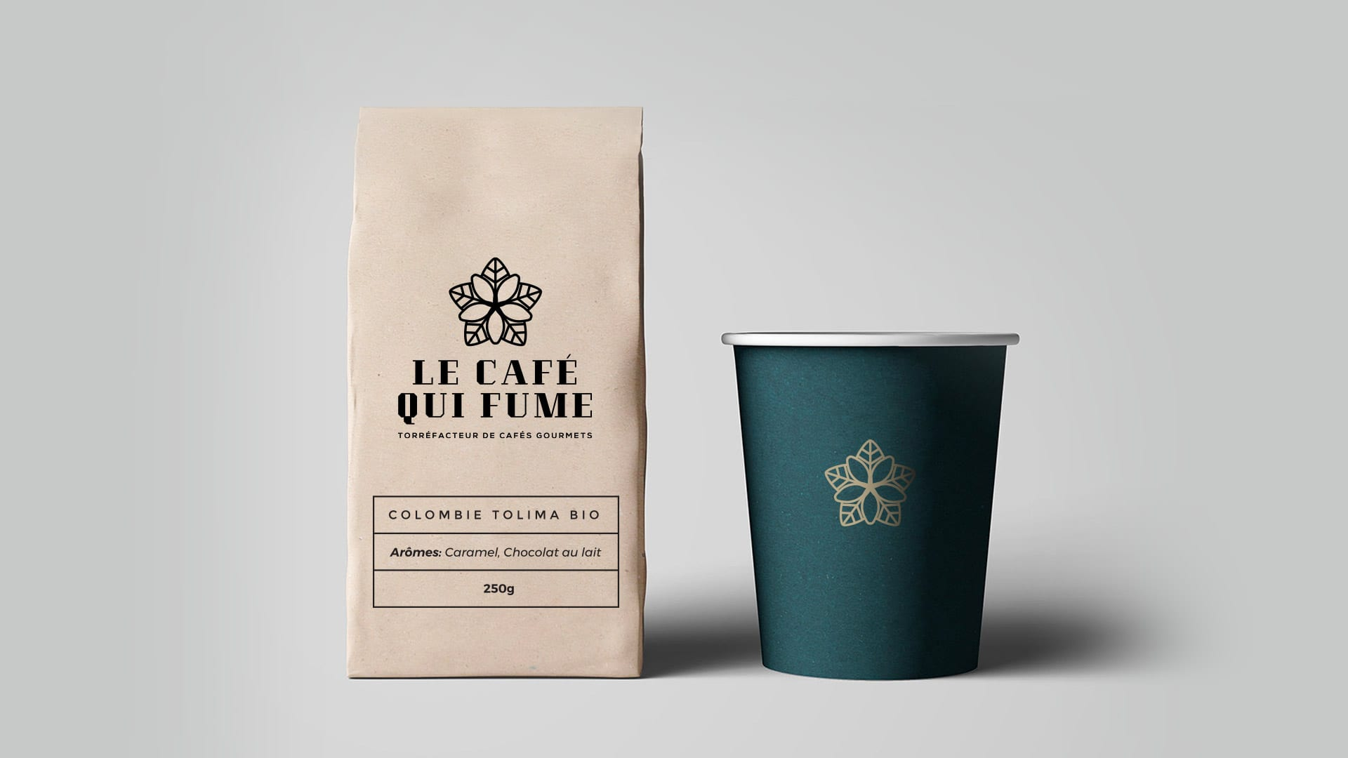 Packaging Café qui fume