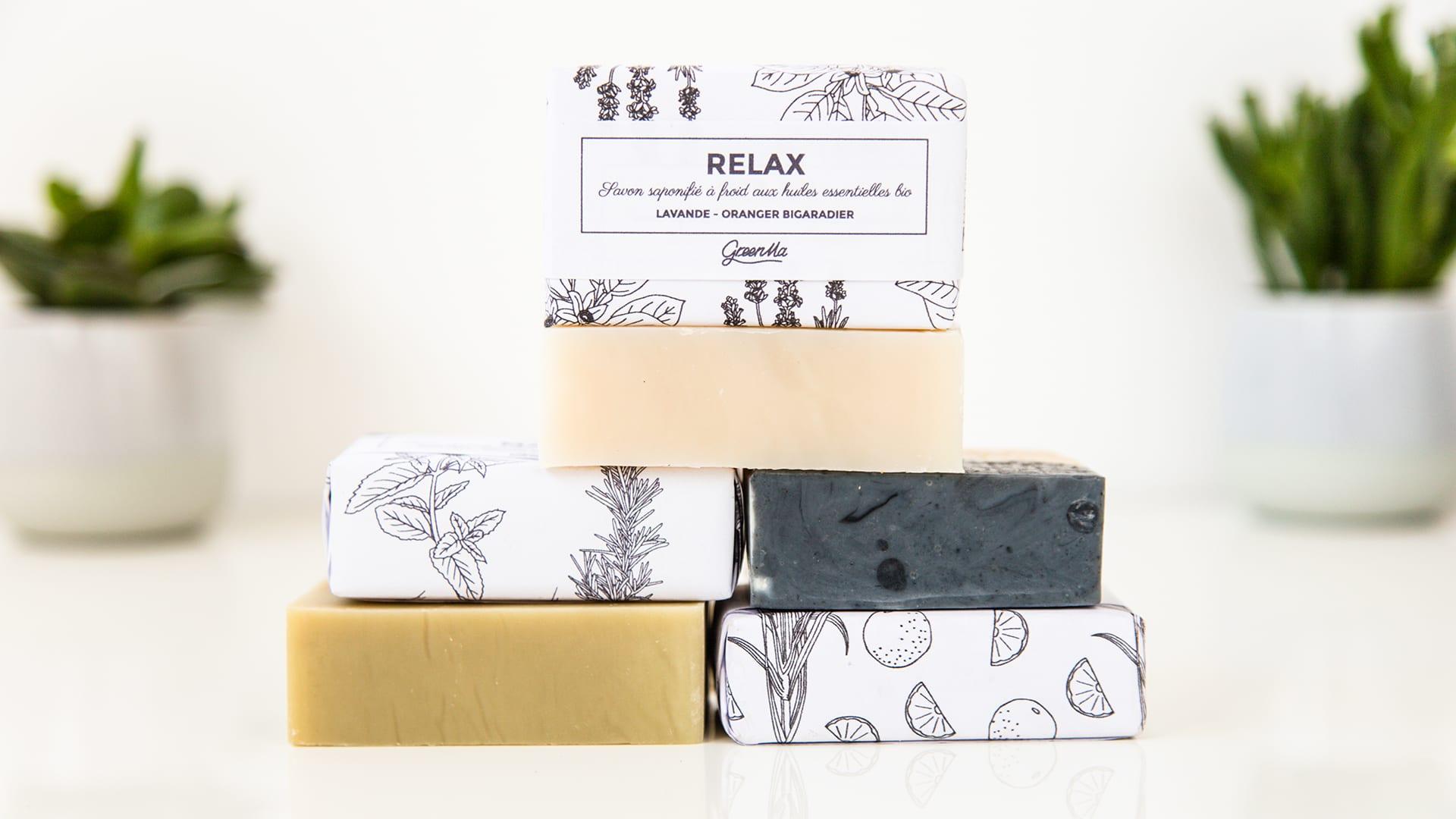 GreenMa - pack savon 2